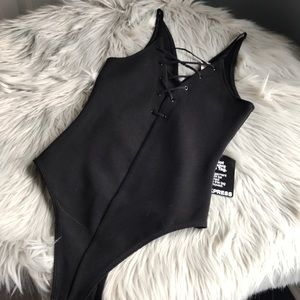 Express black bodysuit NWT XS